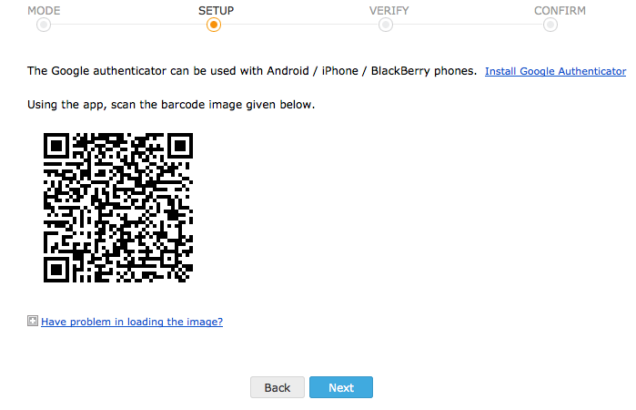 how to find google authenticator key