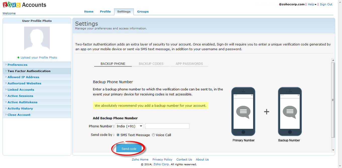 how to add your account to rsi authenticator